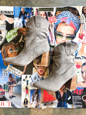 Mavis Bootie in Grey