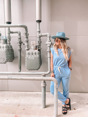 Layla Blue Jumpsuit