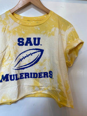 SAU Football Crop Tee : Large (#324)