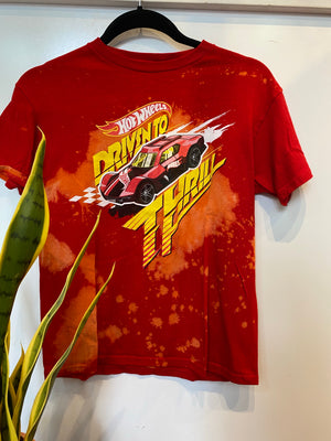 KIDS: Hot Wheels Tee : Med (#129)