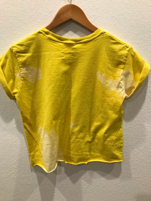 KIDS : Oregon Acid Wash Raw Hem Tee