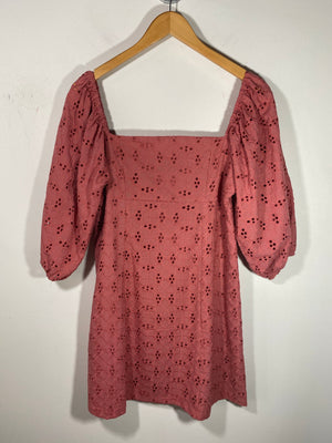 New Girl Eyelet Dress