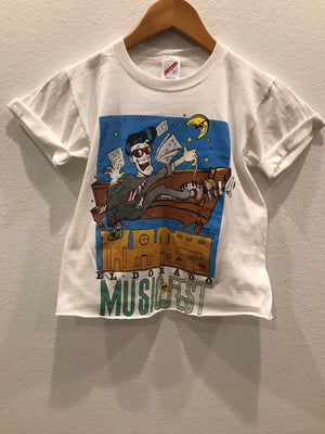 KIDS : El Dorado Music Fest Raw Hem Tee