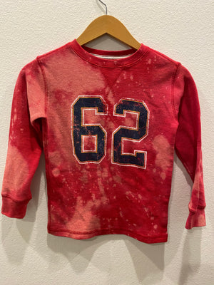 KIDS : 62 Waffle Acid Wash Full Length Tee