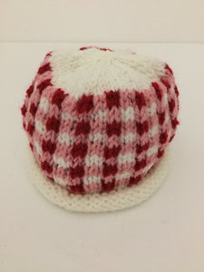 Newborn hat-gingham