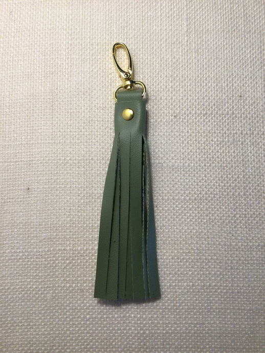 Moss Green Key Chain