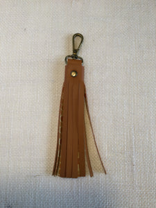 Cognac Key Chain