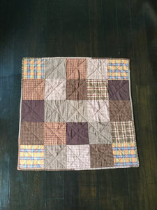 Homespun Plaid Quilt