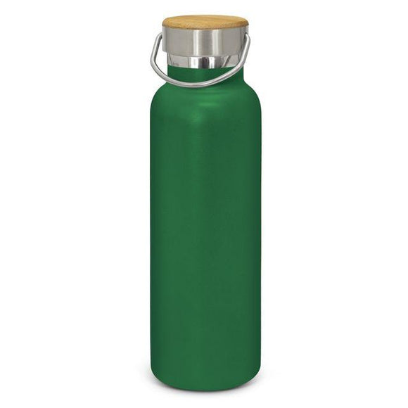 BB050 - Bamboo lid Powder Coated Drink Bottles
