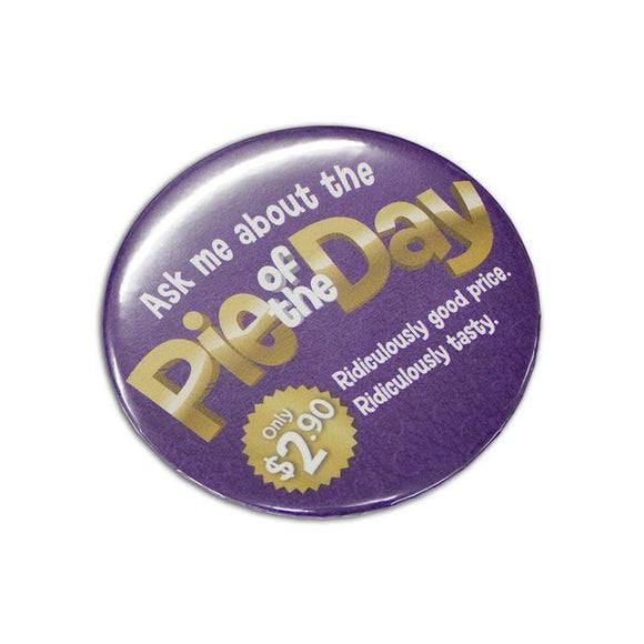 BB057 - 75mm Button Badges printed full colour 1 side