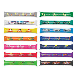 BB058 - Cheer Sticks : A set of 2 thunder Stix for sporting events, printed 1 colour on each pair