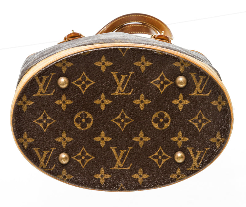 Louis Vuitton Monogram Petit Bucket Bag 23