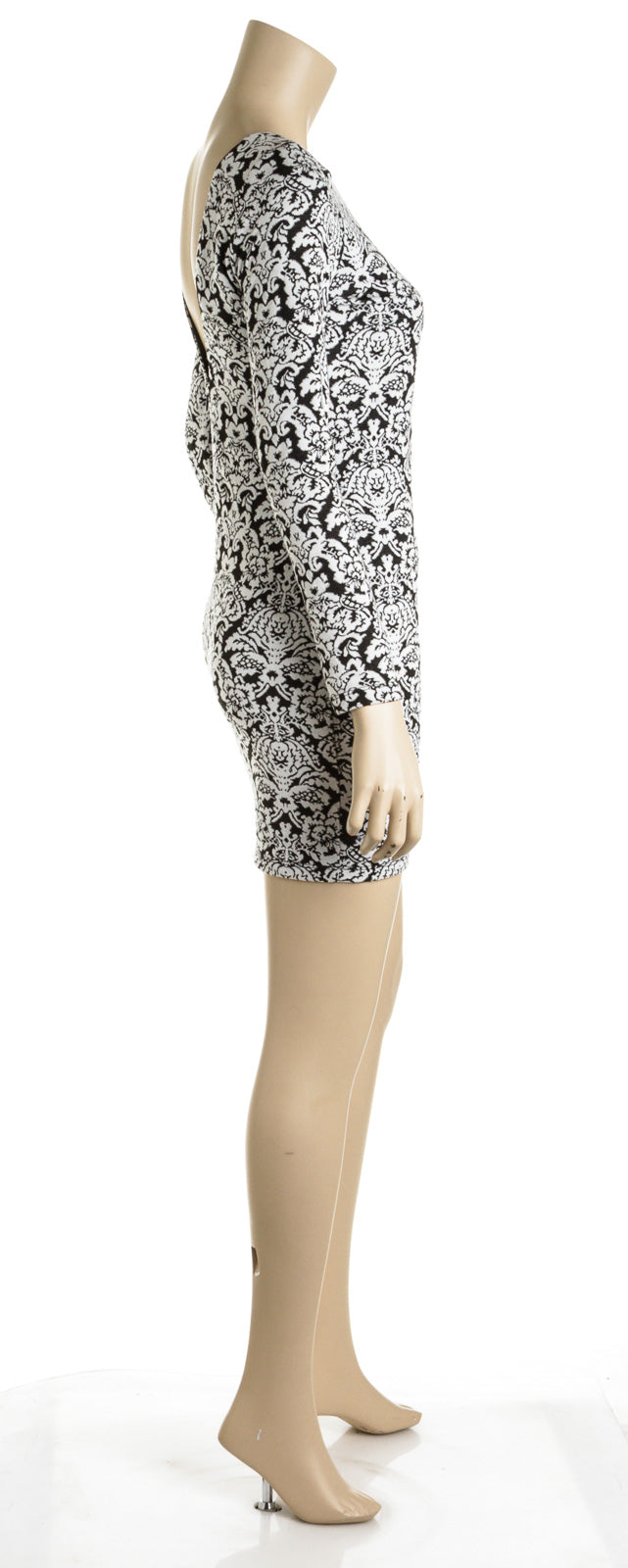 Nightcap Knit Baroque Print Dress (Size 2)