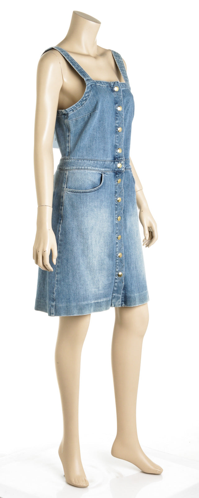 Frame Claire Denim Dress (Size M)