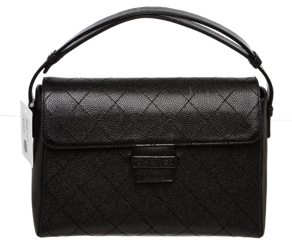 Chanel Black Caviar Vintage Caviar Quilted Shoulder Bag