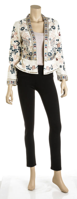 Love Sam Addison Embroidered Jacket (Size S)