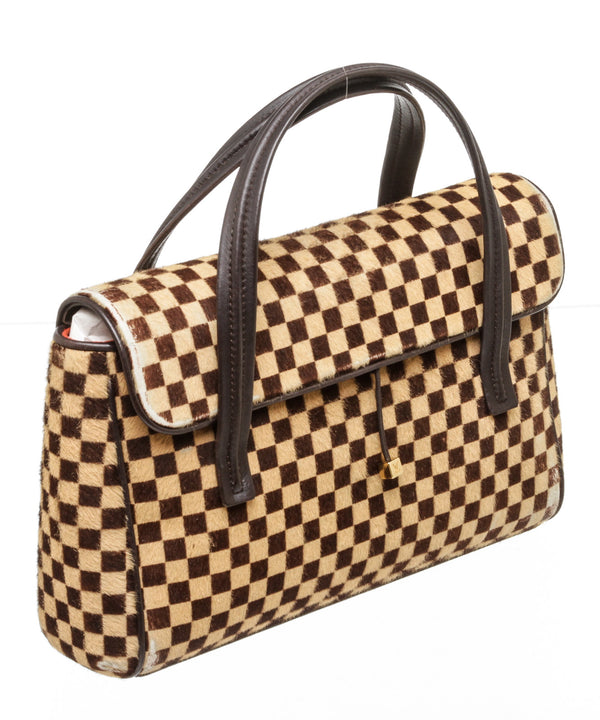 Louis Vuitton Lionne Damier Sauvage Mini Handbag