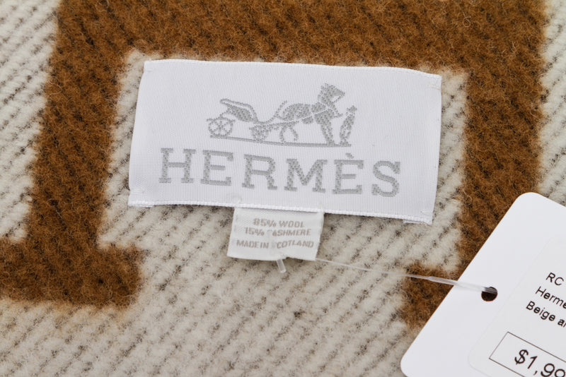 Hermes Avalon Throw Blanket
