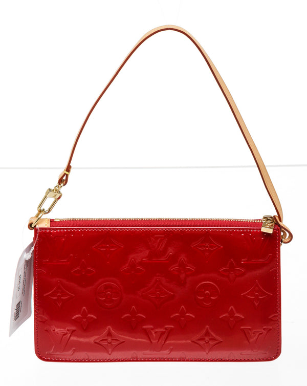 Louis Vuitton Red Vernis Patent Leather Lexington Pochette