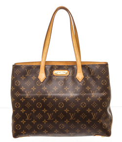 Louis Vuitton Brown Monogram Wilshire Tote