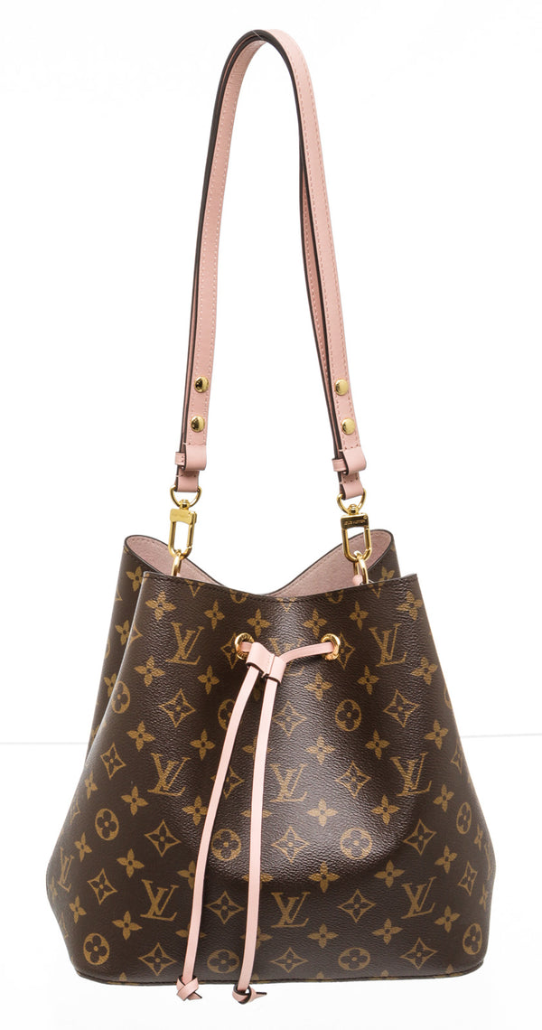 Louis Vuitton Brown Monogram NeoNoe Bucket Bag MM