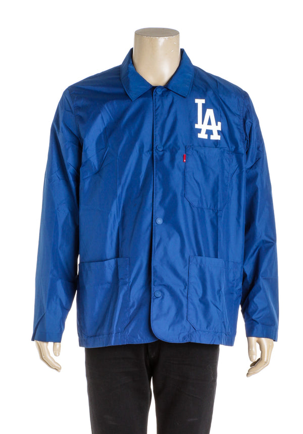 Levi X Dodgers Blue Men's windbreaker (Size L)