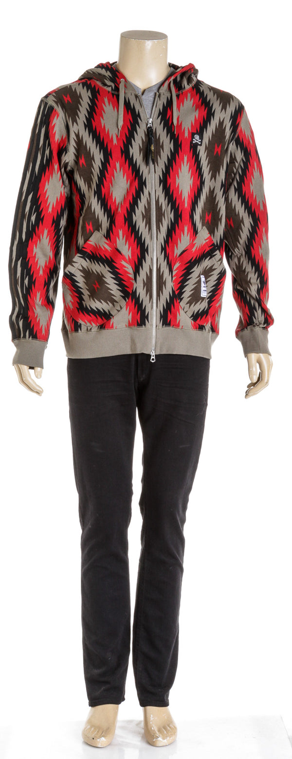 Adidas X Neighborhood Red And Brown Men's Zip up (Size L)