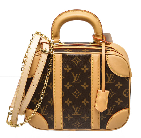 Louis Vuitton Brown Monogram Valisette Mini Luggage Bag