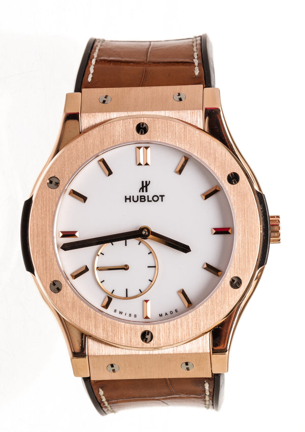 Hublot Classic Fusion Automatic 33mm Ladies Watch Rose Gold