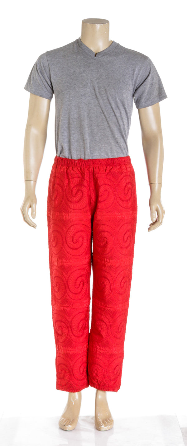 Supreme Red Men's sweatpants (Size L)