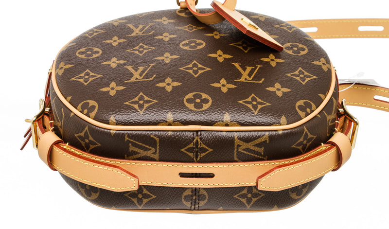 Louis Vuitton Brown Monogram Canvas Boite Chapeau Souple Bag MM