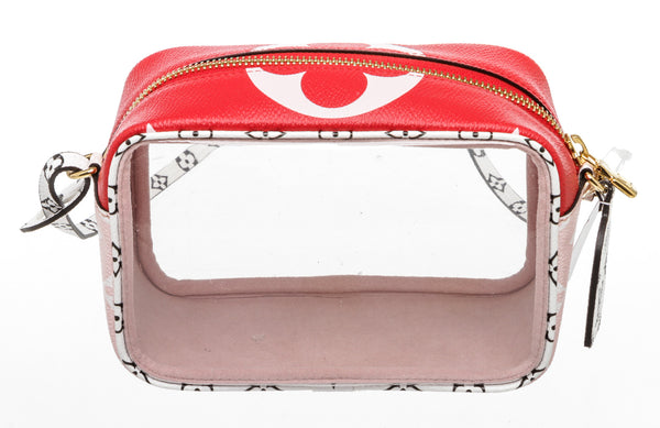 Louis Vuitton Rouge Monogram Giant  Beach Pouch