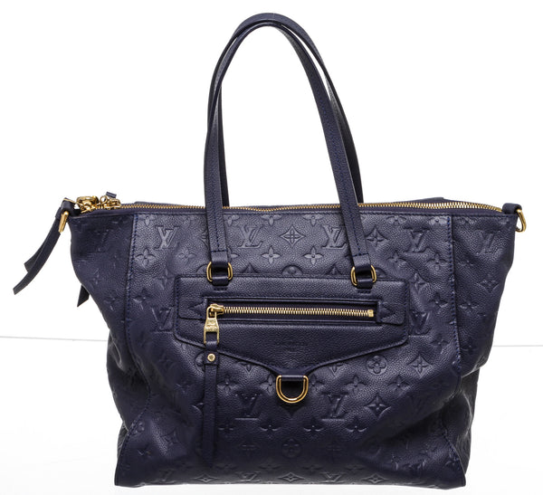 Louis Vuitton Navy Blue Empreinte Lumineuse GM Bag