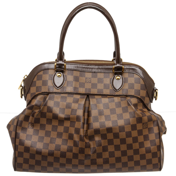 Louis Vuitton Damier Ebene Trevi Satchel