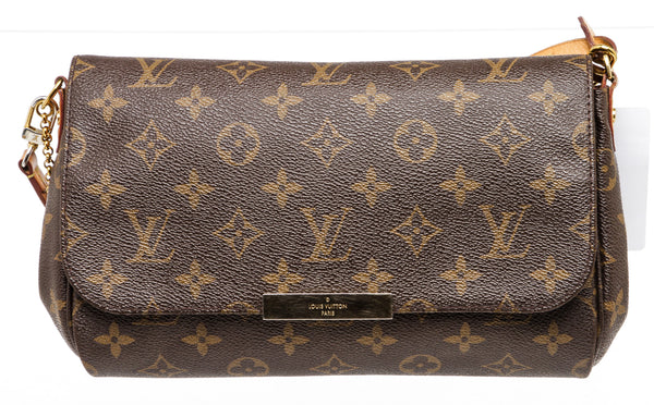 Louis Vuitton Brown Monogram Favorite Crossbody Bag