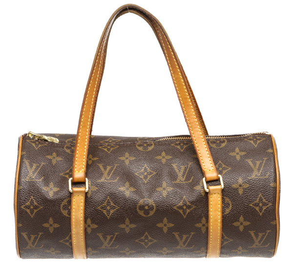 Louis Vuitton Brown Monogram Papillon Handbag