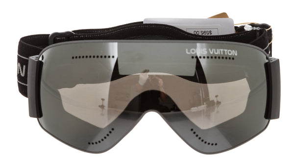 Louis Vuitton Intergalactic Black Shield Mens Ski Goggles