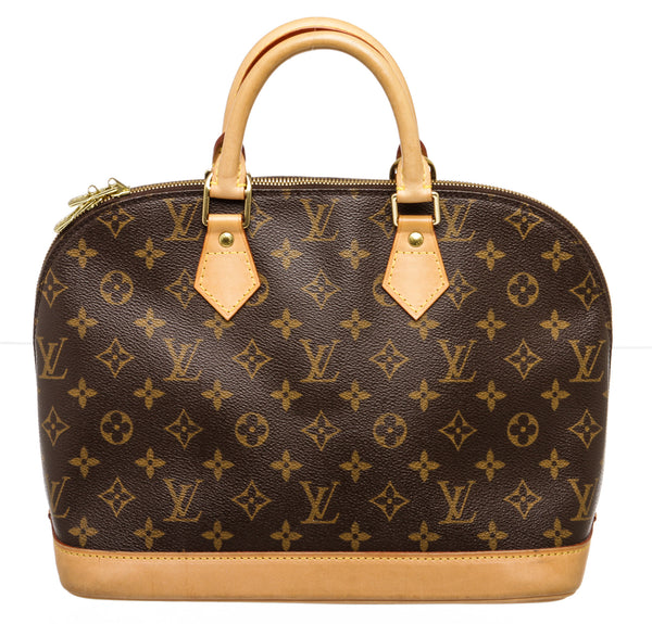 Louis Vuitton Brown Monogram Alma Handbag