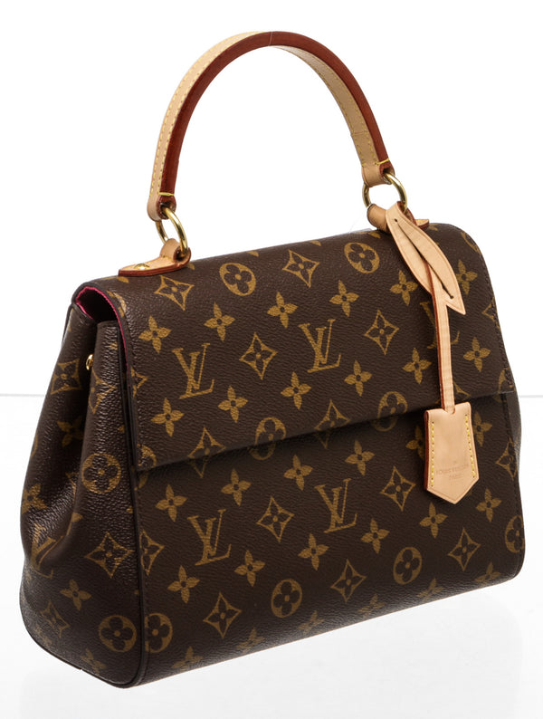 Louis Vuitton Brown Monogram Cluny BB Satchel
