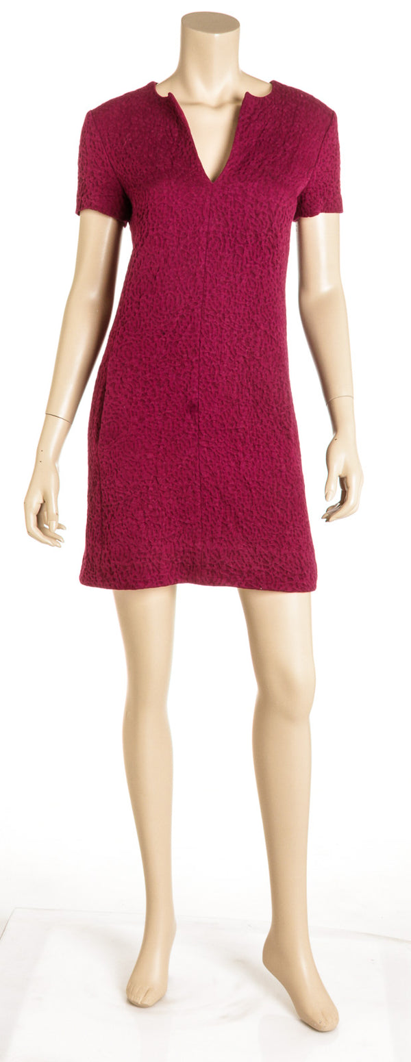Balenciaga Magenta Mini Dress ( Size 38)
