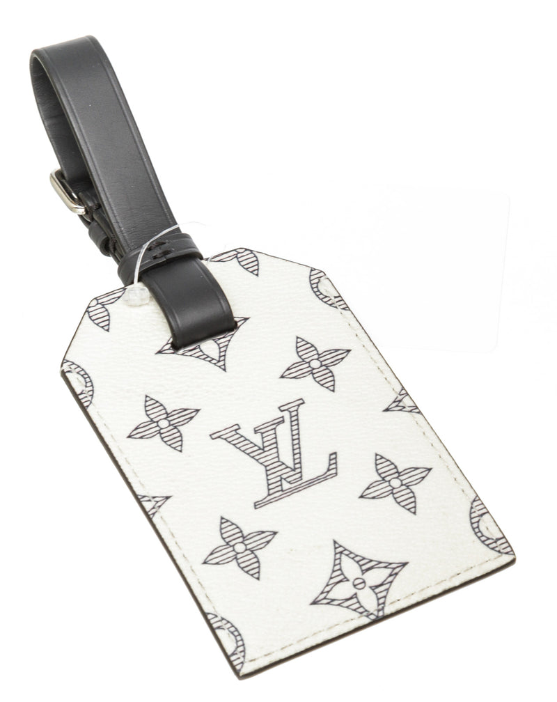 Louis Vuitton Savane Elephant Luggage Tag