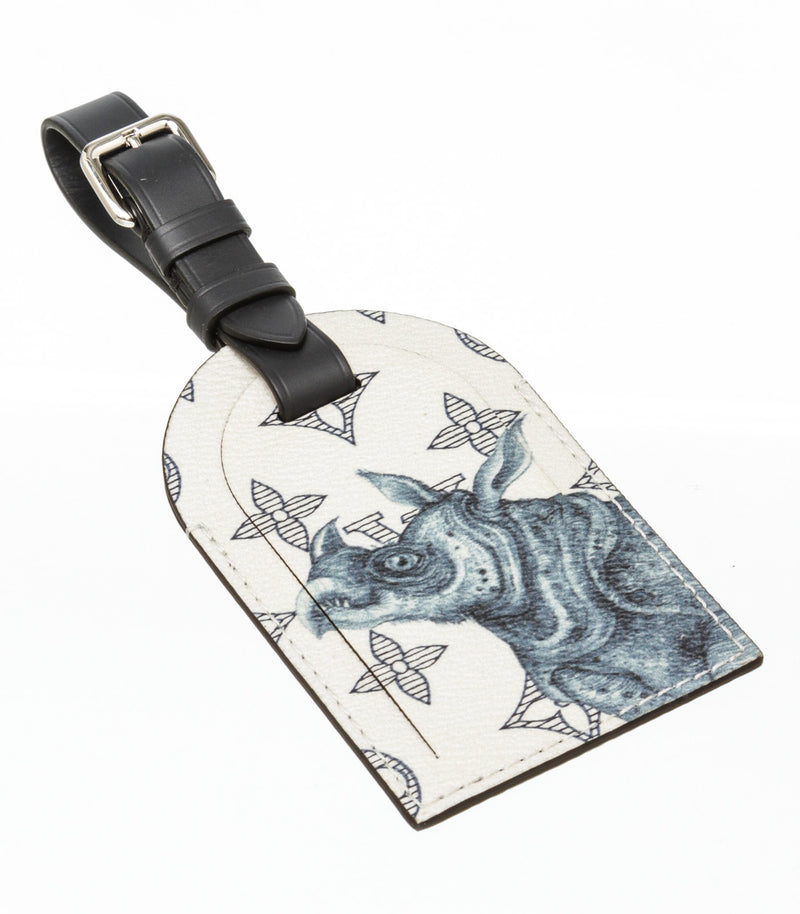 Louis Vuitton Savane Rhino Luggage Tag