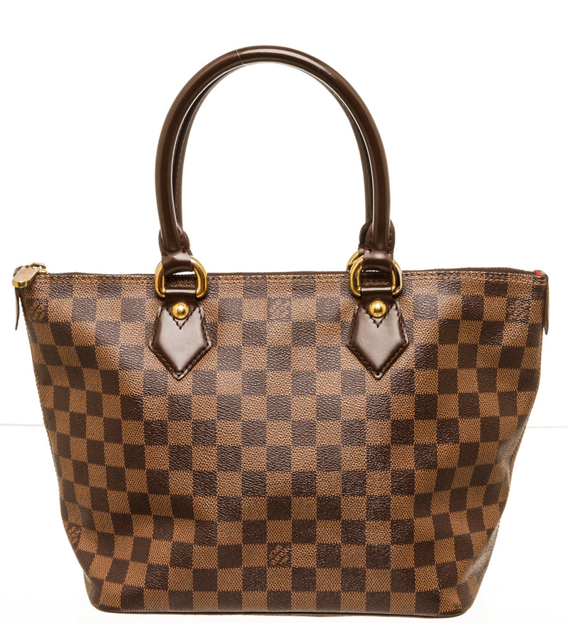 Louis Vuitton Damier Monogram Saleya Tote Bag MM