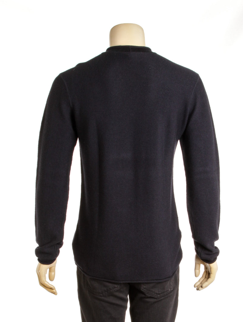 Men's Giorgio Armani Navy Blue Knitwear Sweater( Size 54)