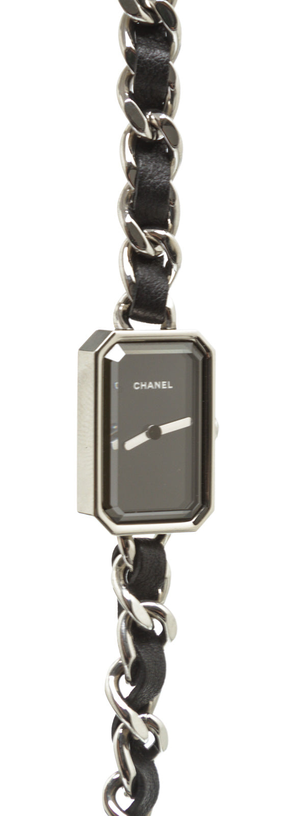Chanel Black and Stainless Steel Première Rock Watch