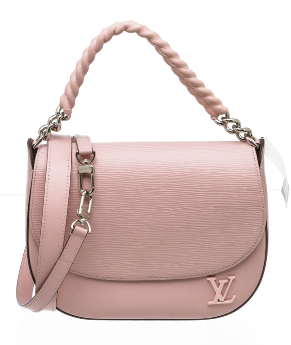 Louis Vuitton Pink Rose Ballerine Epi Luna Bag