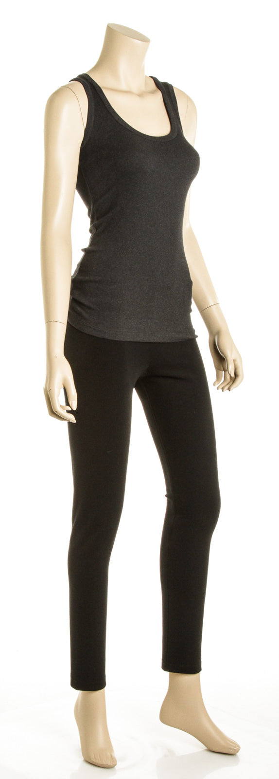 Brunello Cucinelli Dark Grey Cotton Tank Top (Size XS)