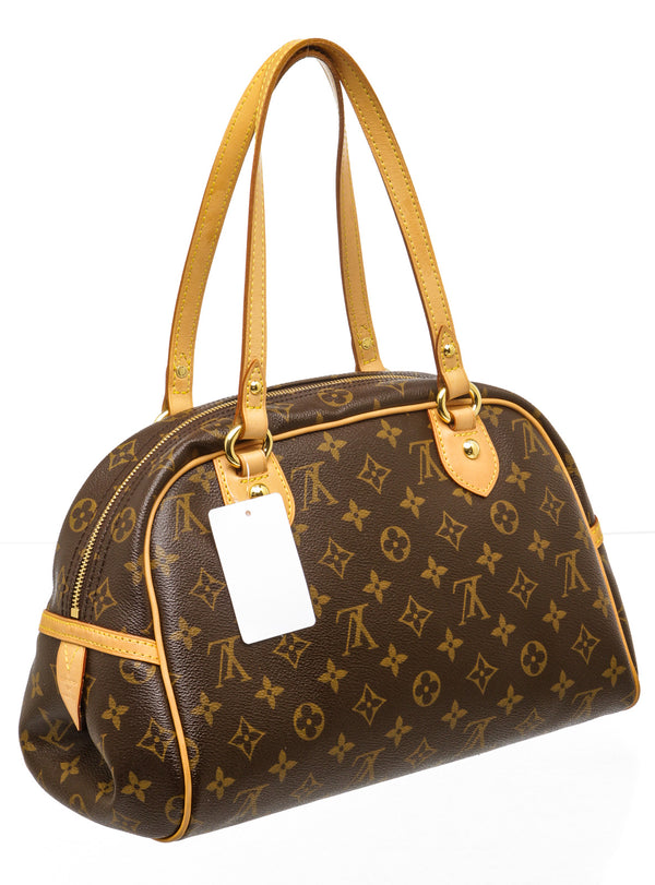 Louis Vuitton Brown Monogram Montorgueil PM Shoulder Bag