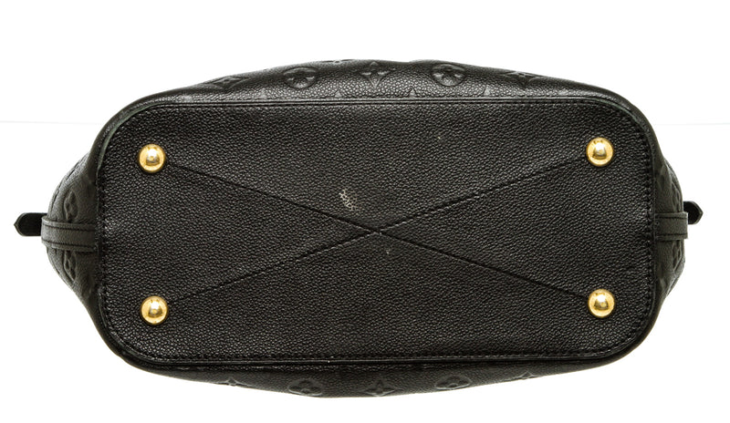 Louis Vuitton Black Empreinte Mazarine MM Bag