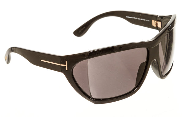 Tom Ford Sedgewick FT0402 Navy Blue Rose Gold Sunglasses